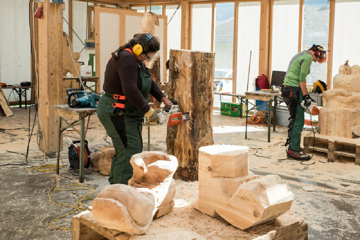 Basic Course Chainsaw Carving - Woodcarving School Geisler