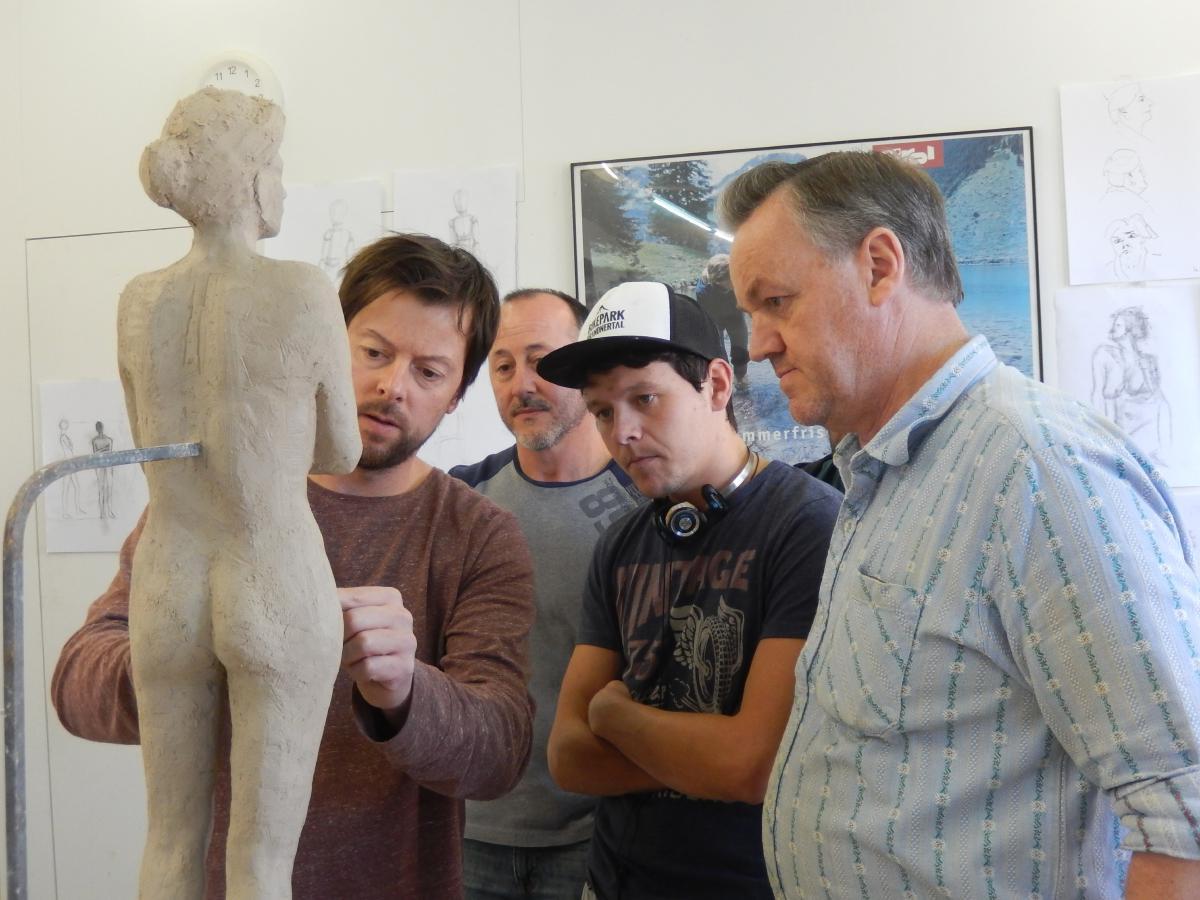 Sculpting Certificate - Woodcarving School Geisler-Moroder